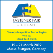 FASTENER FAIR 2019, APPUNTAMENTO A STOCCARDA