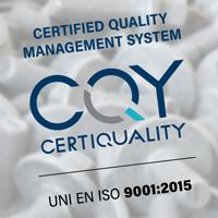 CHAMPS CERTIFICATA UNI EN ISO 9001:2015