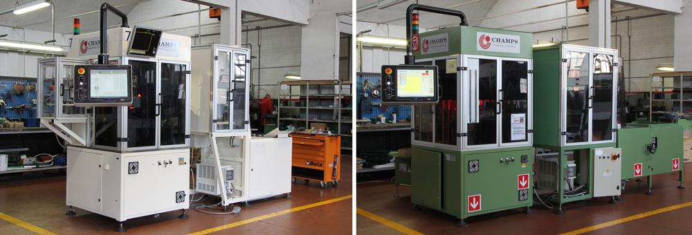 ricondizionamento macchine controllo selezione fasteners